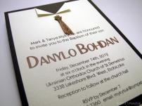 Baptism invitation for Danylo Mykytiuk, 2012.