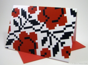 Blank Note cards by PtashkaArts on Etsy