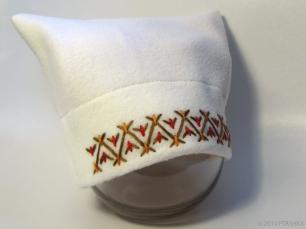 Ukrainian Hutsul style toddler hat by PtashkaArts on Etsy