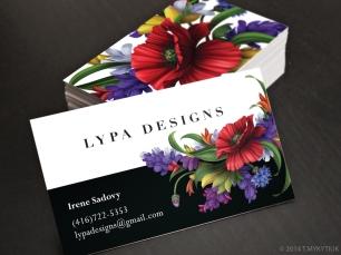 Lypa Designs Business Card