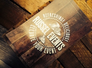 "Russel Events ""Lemonade"" Postcard Self-promo"