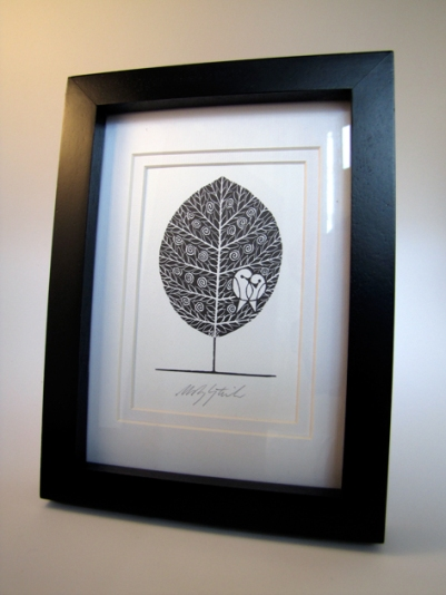 """Tree of Life"" litho print by PtashkaArts on Etsy"