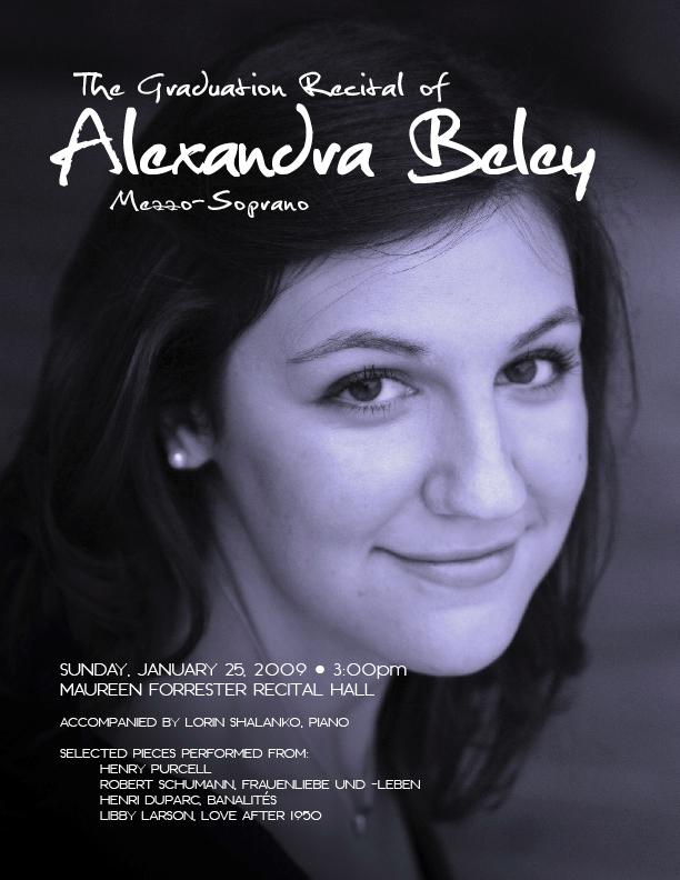 Alexandra's Recital