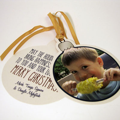 2013 Ornament Card