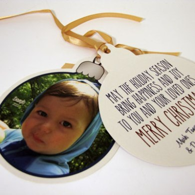 2013 Christmas Ornament Greeting Cards