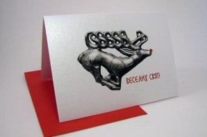 UkrainianChristmas Card by PtashkaArts on Etsy