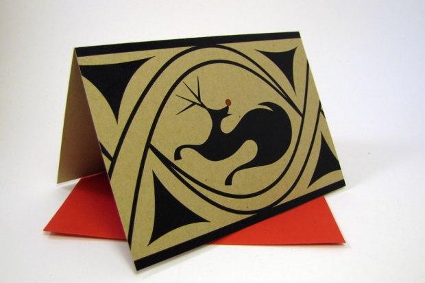 Trypillian Rudolph Card