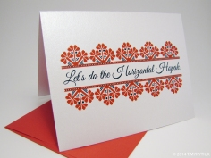 Ukrainian Valentine's Day Card by PtashkaArts on Etsy