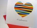 Ukrainian Valentine's Day Card by PtashkaArts on Etsy