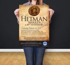 UCC-APC Hetman Awards Poster
