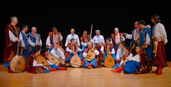 Ukrainian Bandurist Chorus, photo by Andrew Zwarych