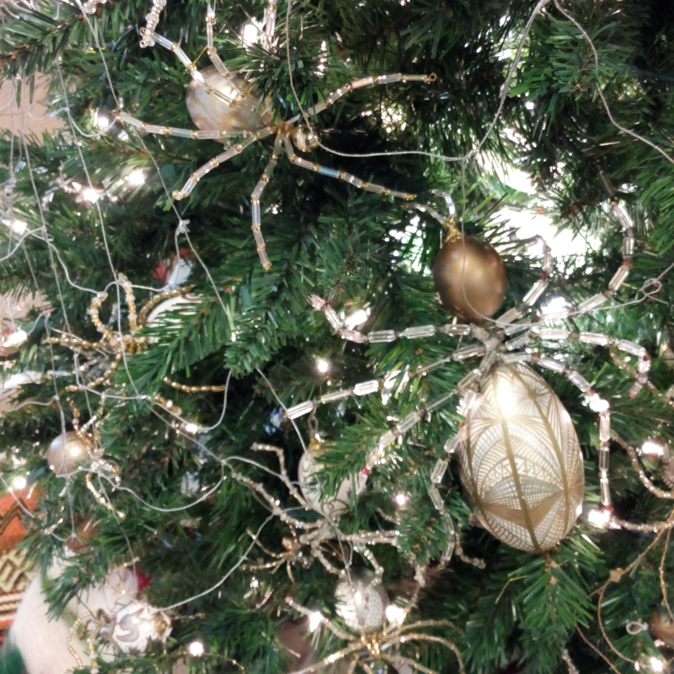 christmas spiders - The Christmas Spider